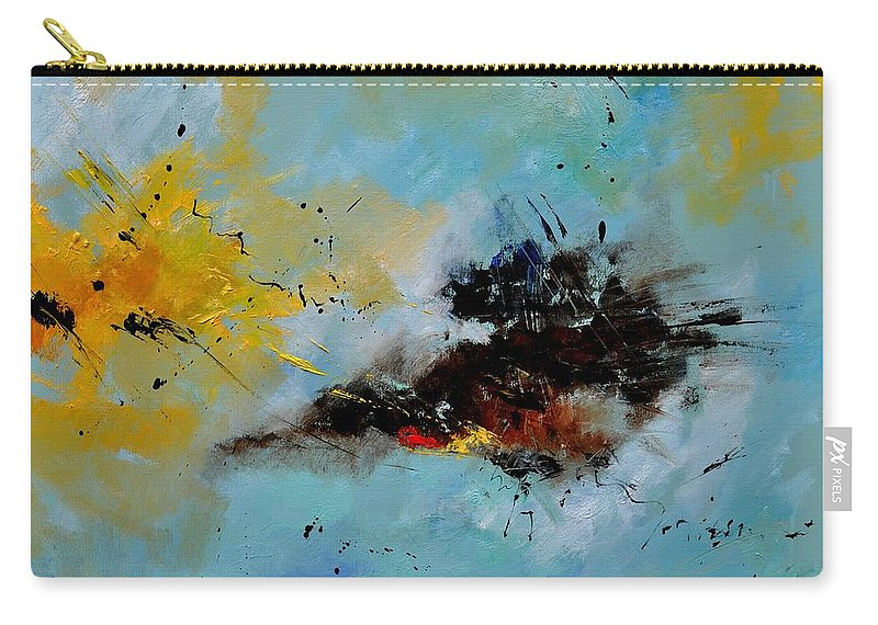 Abstract Carry-all Pouch featuring the painting Abstract 1811803 by Pol Ledent