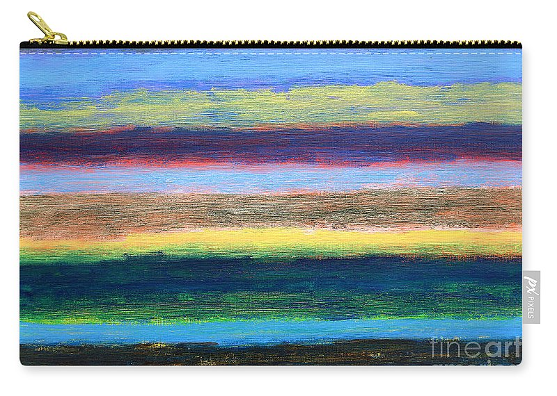 Abstract Carry-all Pouch featuring the painting Abstract 215 by Patrick J Murphy