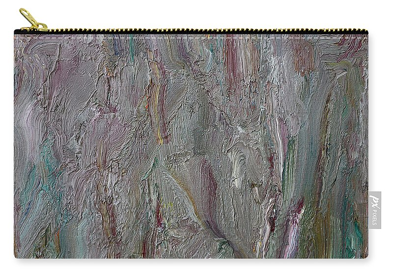 Abstract Carry-all Pouch featuring the painting Abstract 409 by Patrick J Murphy
