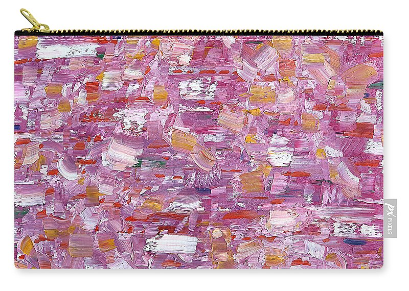 Abstract Carry-all Pouch featuring the painting Abstract 467 by Patrick J Murphy