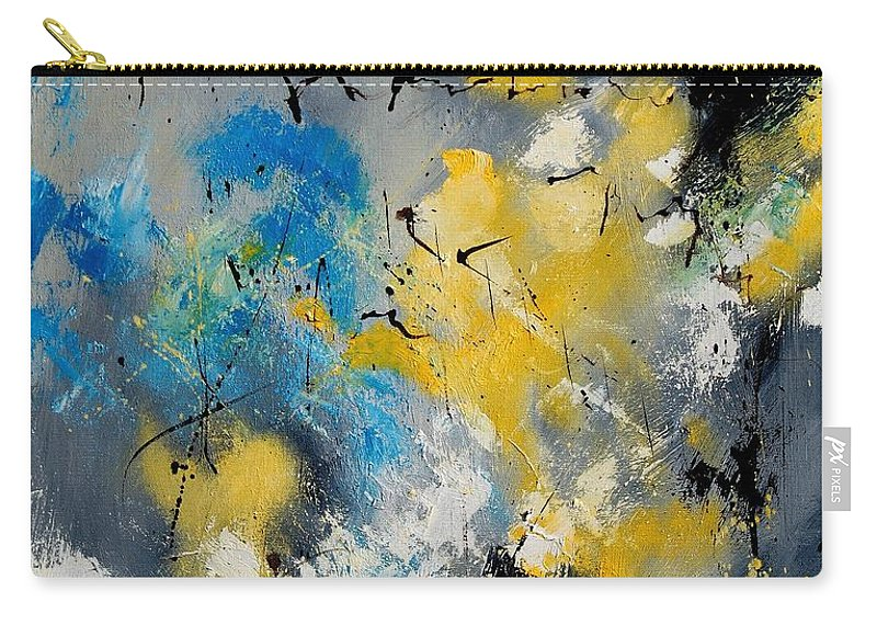 Abstract Carry-all Pouch featuring the painting Abstract 569070 by Pol Ledent