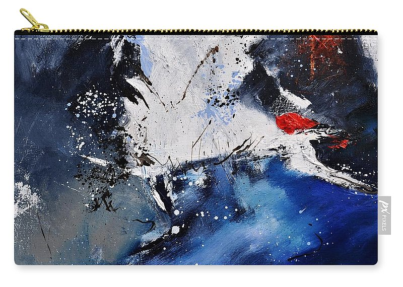 Abstract Carry-all Pouch featuring the painting Abstract 6611401 by Pol Ledent