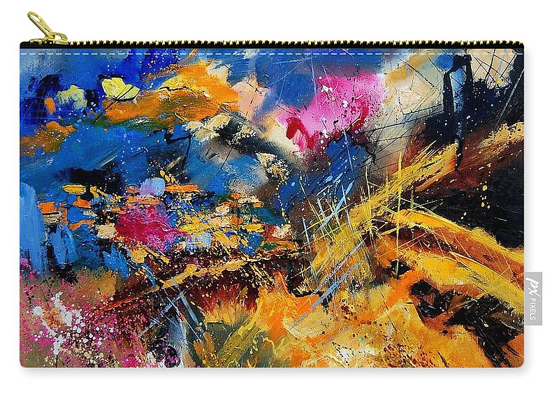 Abstract Carry-all Pouch featuring the painting Abstract 7808082 by Pol Ledent