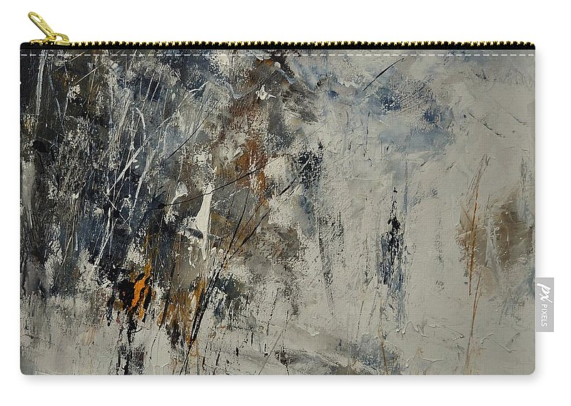Abstract Carry-all Pouch featuring the painting Abstract 8821207 by Pol Ledent