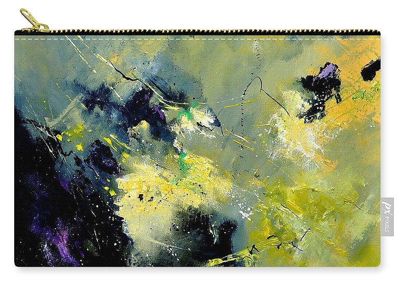 Abstract Carry-all Pouch featuring the painting Abstract 8821603 by Pol Ledent