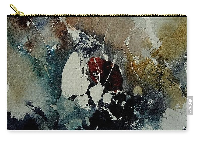 Abstract Carry-all Pouch featuring the painting Abstract 900121 by Pol Ledent