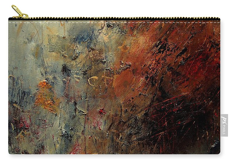 Abstract Carry-all Pouch featuring the painting Abstract 900192 by Pol Ledent
