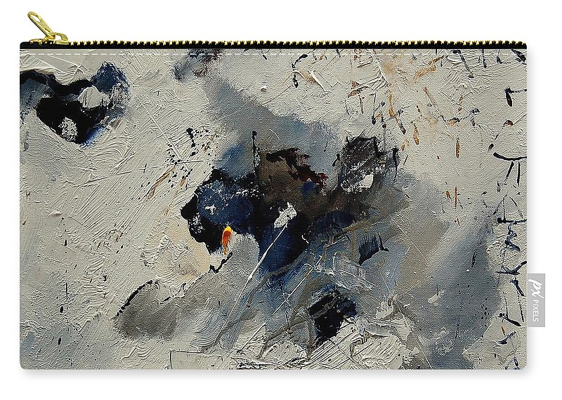 Abstract Carry-all Pouch featuring the painting Abstract 901141 by Pol Ledent