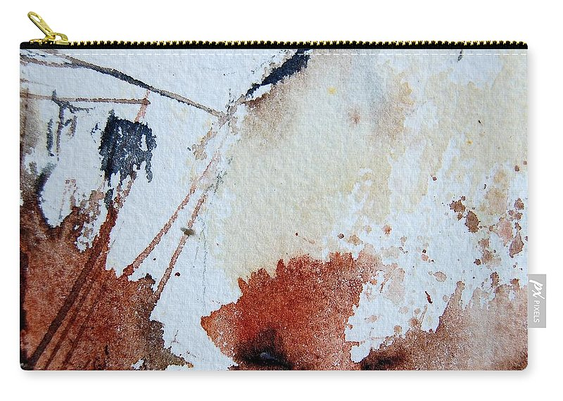 Abstract Carry-all Pouch featuring the painting Abstract 9037 by Pol Ledent