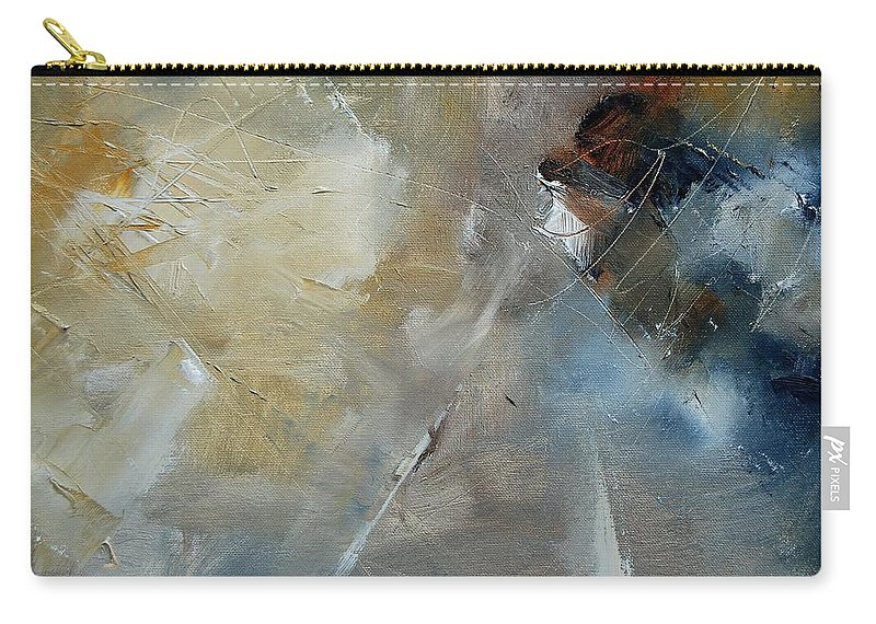 Abstract Carry-all Pouch featuring the painting Abstract 904060 by Pol Ledent