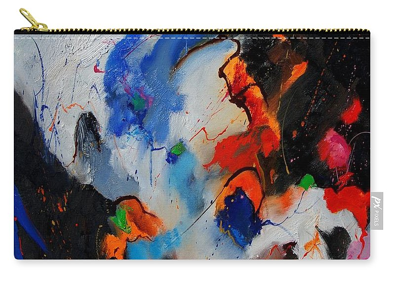 Abstract Carry-all Pouch featuring the painting Abstract 905060 by Pol Ledent