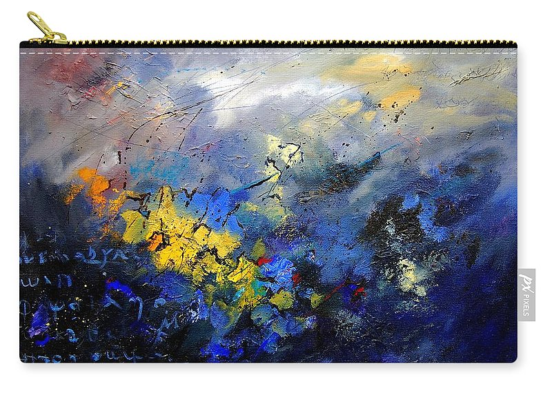 Abstract Carry-all Pouch featuring the painting Abstract 970208 by Pol Ledent