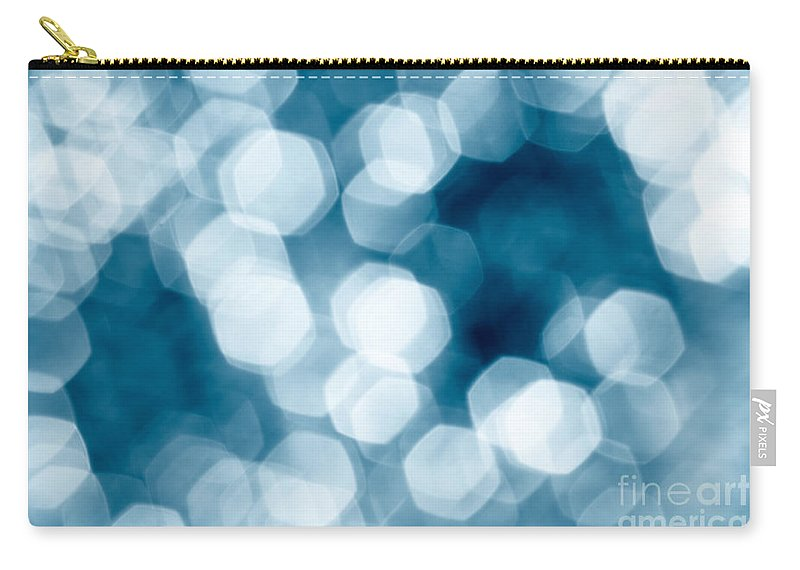 Abstract Carry-all Pouch featuring the photograph Abstract Background by Gaspar Avila