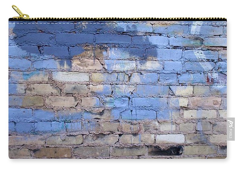 Industrial Carry-all Pouch featuring the photograph Abstract Brick 3 by Anita Burgermeister