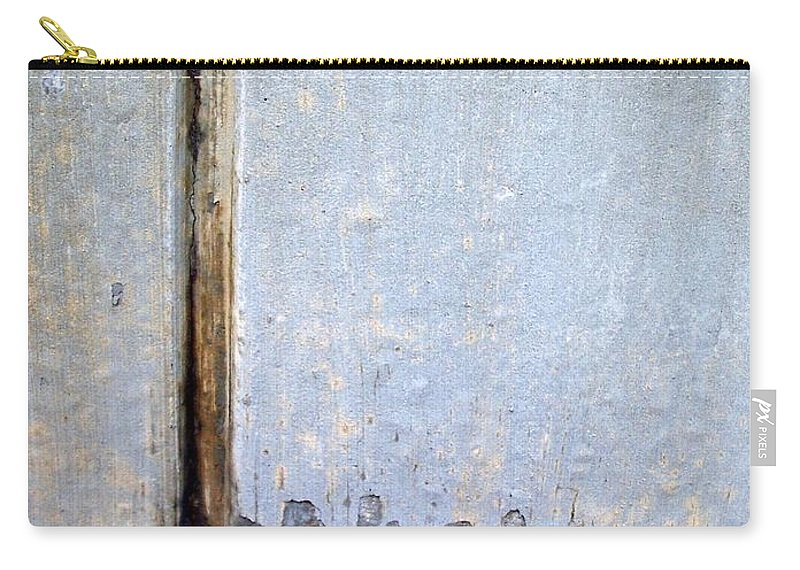 Industrial. Urban Carry-all Pouch featuring the photograph Abstract Concrete 19 by Anita Burgermeister