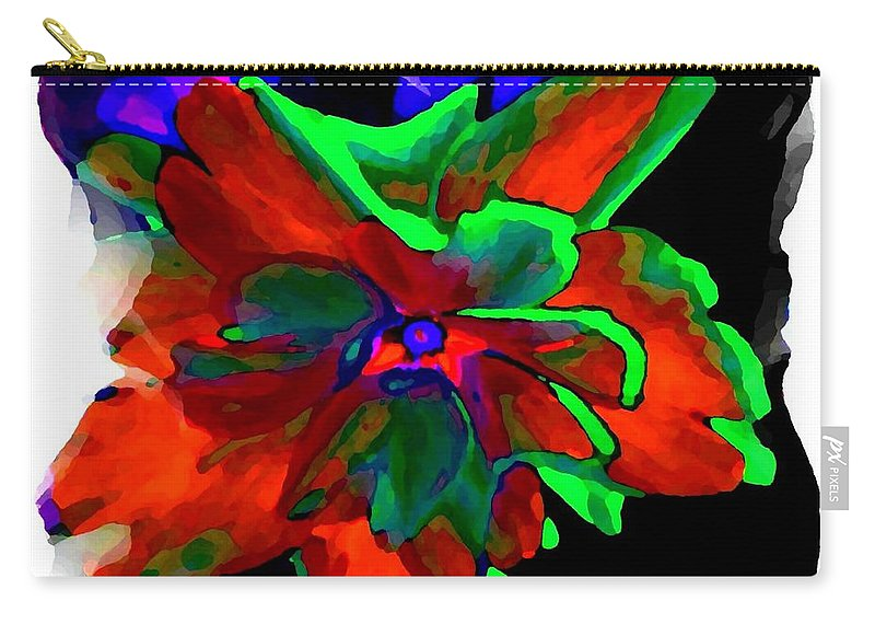 Abstract Carry-all Pouch featuring the digital art Abstract Elegance by Will Borden