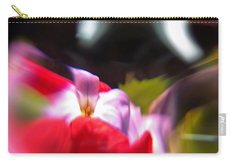 Abstract Carry-all Pouch featuring the photograph Abstract Flowers Part Two by Scott Wyatt
