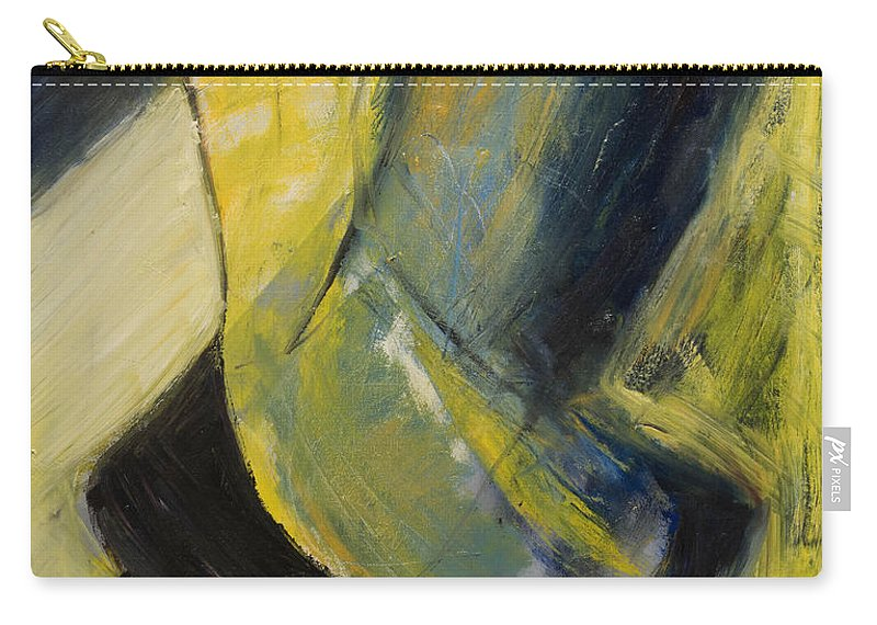 Abstract Carry-all Pouch featuring the painting Abstract Pendulum by Craig Newland