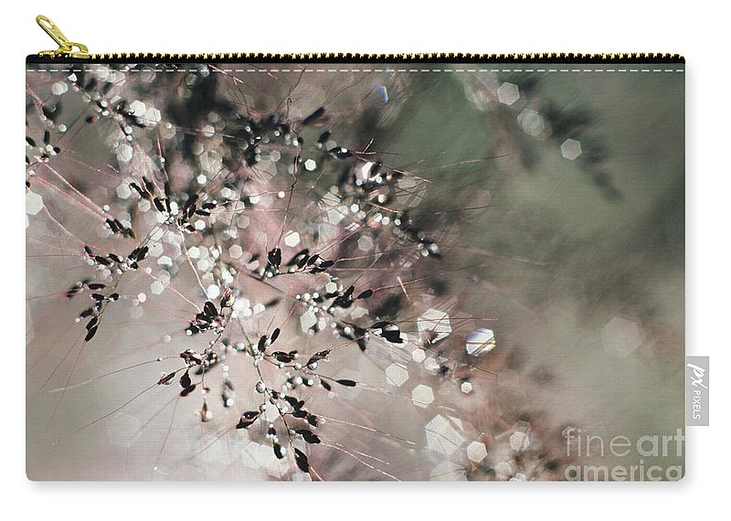 Blur Carry-all Pouch featuring the photograph Abstract Plant by Larry Dale Gordon - Printscapes