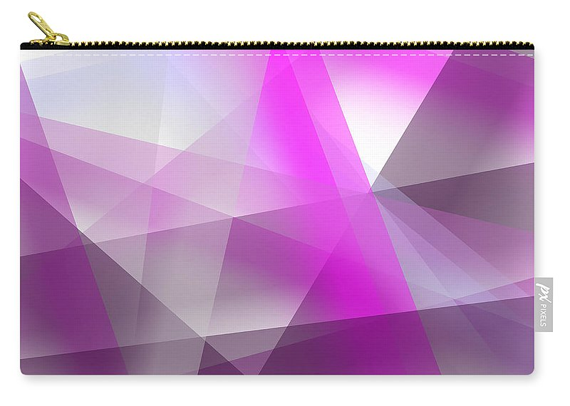 Abstract Carry-all Pouch featuring the digital art Abstract by Svetlana Sewell