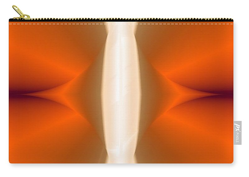 Digital Painting Carry-all Pouch featuring the digital art Abstract309b by David Lane