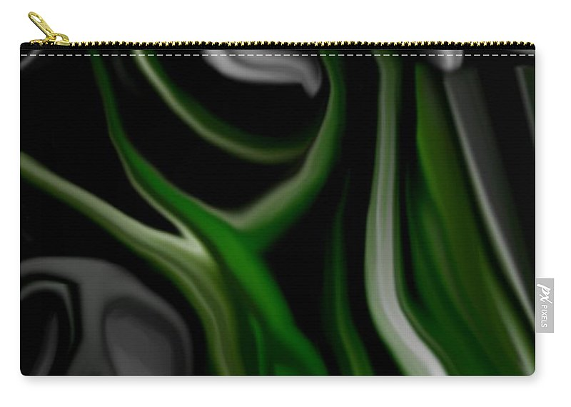 Abstract Carry-all Pouch featuring the digital art Abstract309h by David Lane