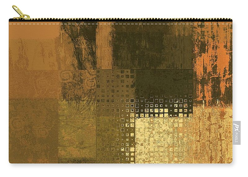 Abstract Carry-all Pouch featuring the digital art Abstractionnel - Ww43j121129158 by Variance Collections