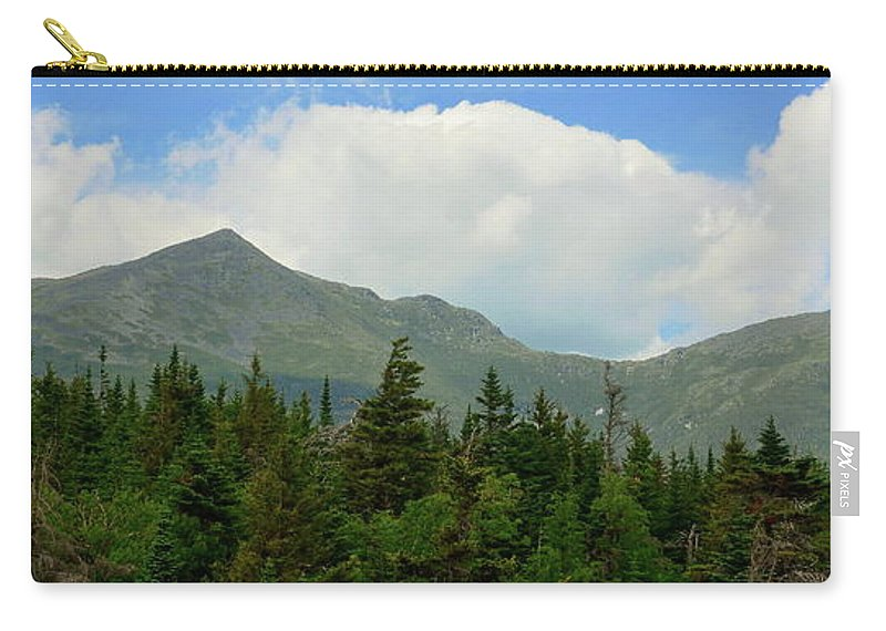 Mountains Carry-all Pouch featuring the photograph Adams And Madison by Harry Moulton