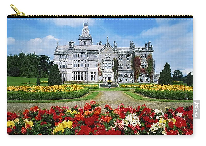 Adare Manor Carry-all Pouch featuring the photograph Adare Manor Golf Club, Co Limerick by The Irish Image Collection