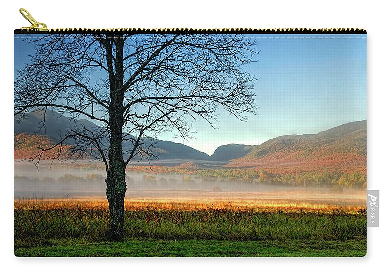 Adirondack Mountains Carry-all Pouch featuring the photograph Adirondack Landscape 1 by Tony Beaver