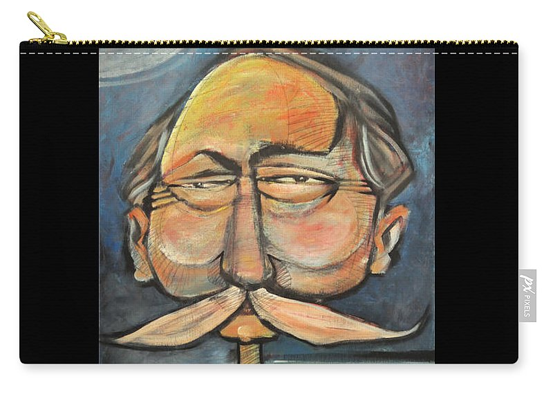Bird Carry-all Pouch featuring the painting Admiral Bird by Tim Nyberg