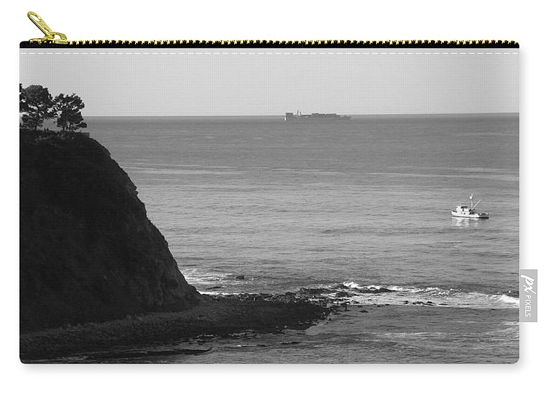 Ocean Carry-all Pouch featuring the photograph Adrift by Shari Chavira