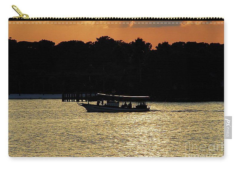 Adventure Travel Carry-all Pouch featuring the photograph Adventure Travel by David Lee Thompson