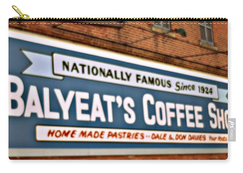 Murals Carry-all Pouch featuring the photograph Advertising by Darlyn Shenold