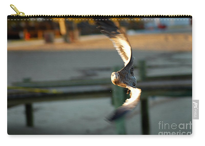Clay Carry-all Pouch featuring the photograph Aeronautical Acrobatics by Clayton Bruster