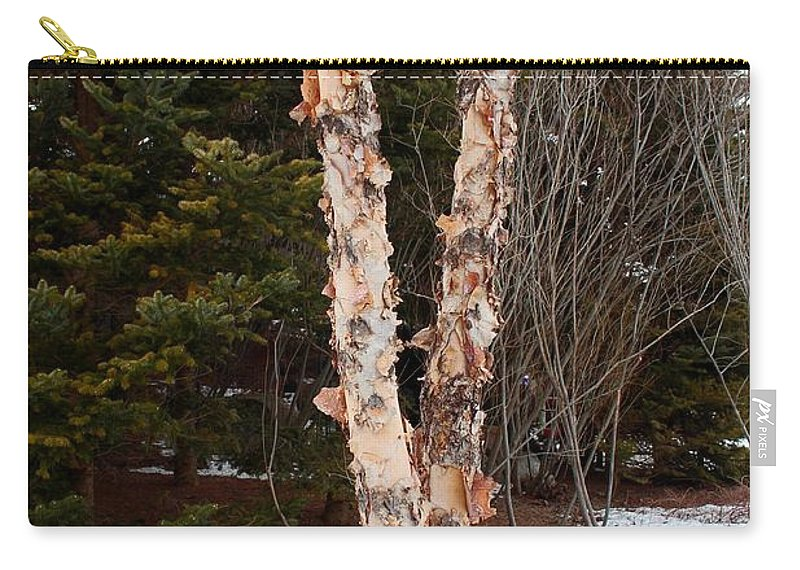 Tree Carry-all Pouch featuring the photograph Affectionate Tears by Michiale Schneider