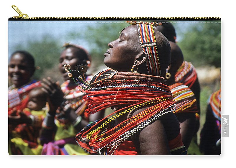 Africa Carry-all Pouch featuring the photograph African Rhythm by Michele Burgess