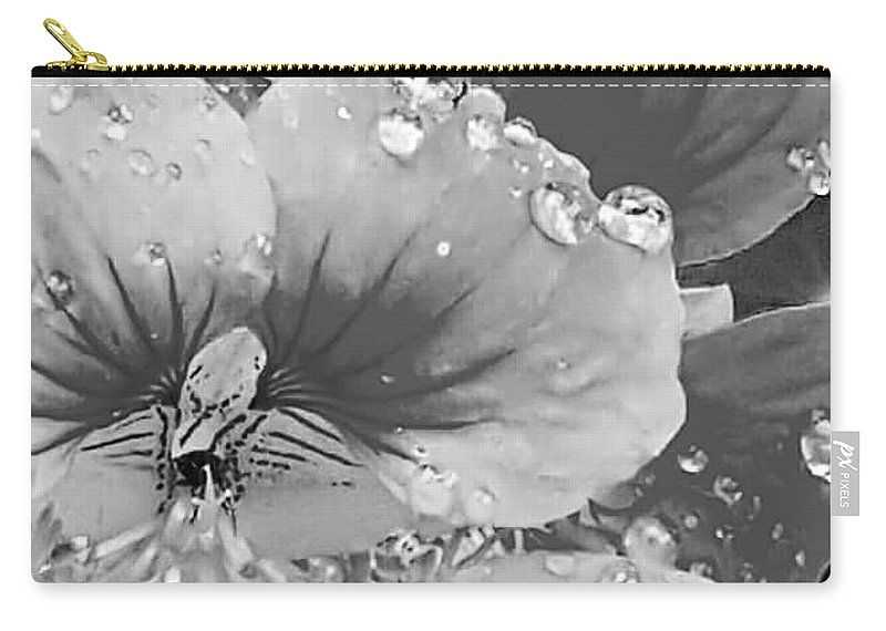 Carry-all Pouch featuring the photograph After The Rain by Joy Newman