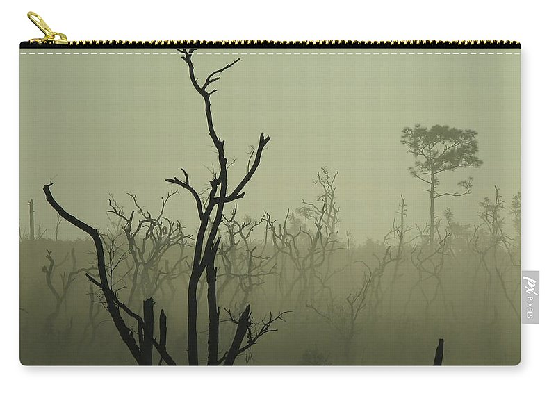 Nature Carry-all Pouch featuring the photograph After The Burn by Peg Urban