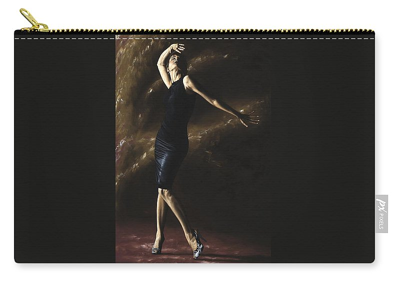 Dance Carry-all Pouch featuring the painting After the Dance by Richard Young