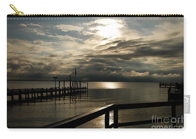 Clay Carry-all Pouch featuring the photograph After The Rain by Clayton Bruster