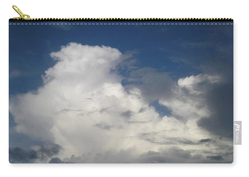 Clouds Carry-all Pouch featuring the photograph After The Rain by Maria Bonnier-Perez