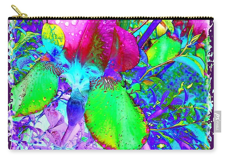 Dramatic Carry-all Pouch featuring the digital art After The Rain by Will Borden