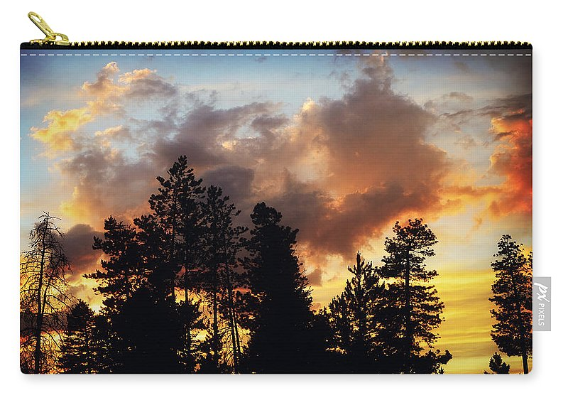 Originalcontent Carry-all Pouch featuring the photograph After The Storm by Janie Johnson