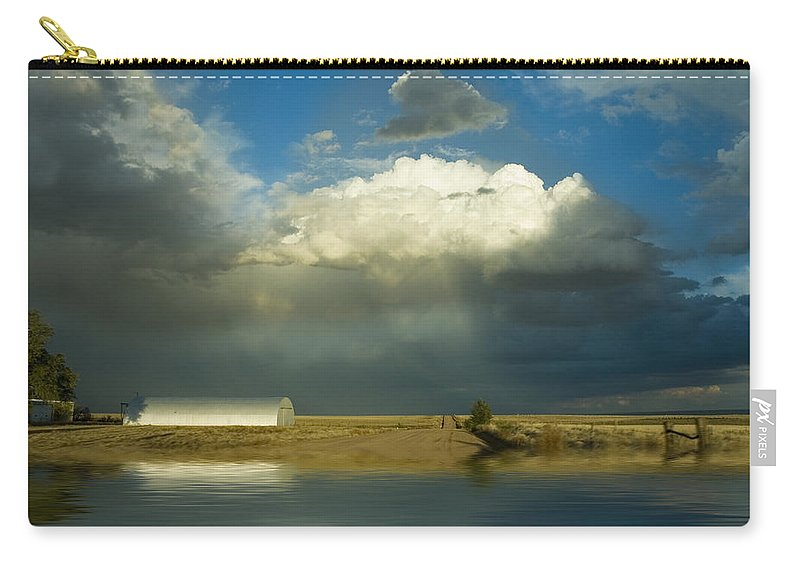Storm Carry-all Pouch featuring the photograph After The Storm by Jerry McElroy