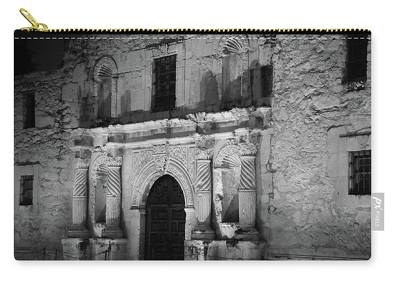 Alamo Carry-all Pouch featuring the photograph Afterglow by Robert A Jones
