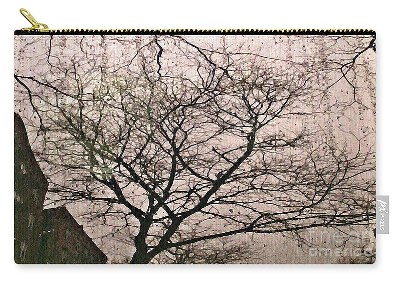 Rain Carry-all Pouch featuring the photograph Afternoon Rain by Sarah Loft