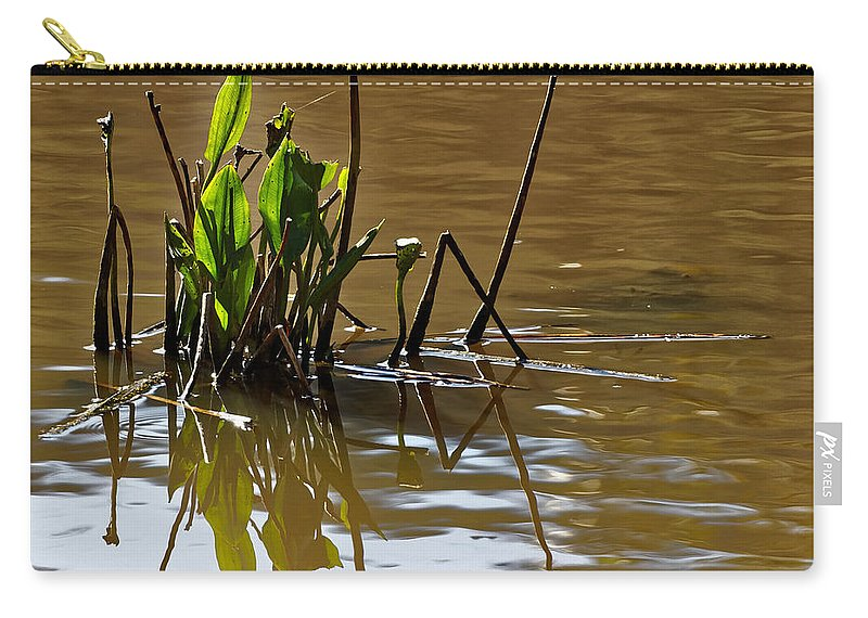 Australia Carry-all Pouch featuring the photograph Afternoon Reflections by Renee Miller