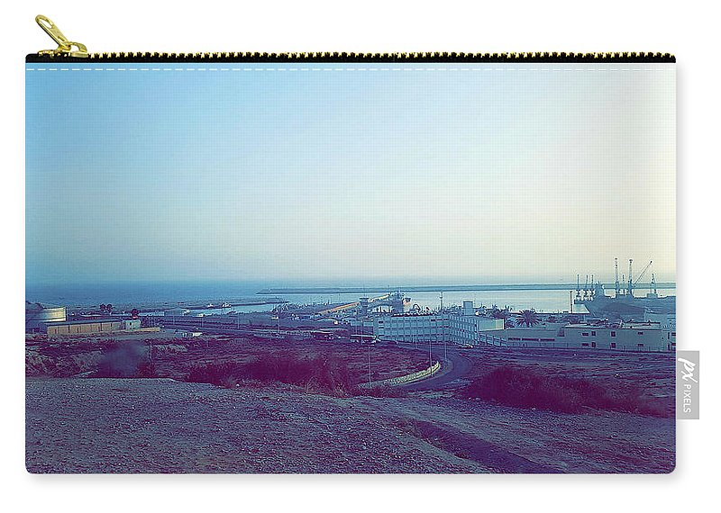 Nature Carry-all Pouch featuring the photograph Agadir Nature by Hassan Boumhi