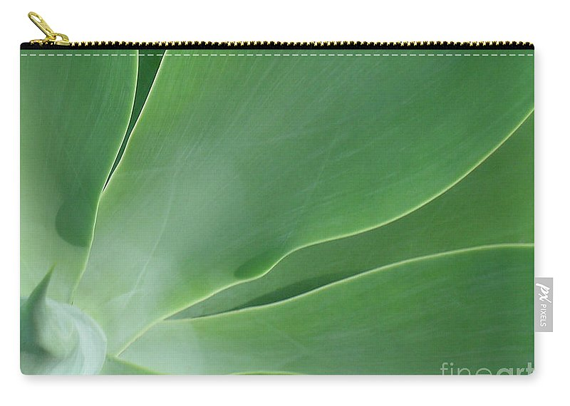 Agave Carry-all Pouch featuring the photograph Agave by James Temple